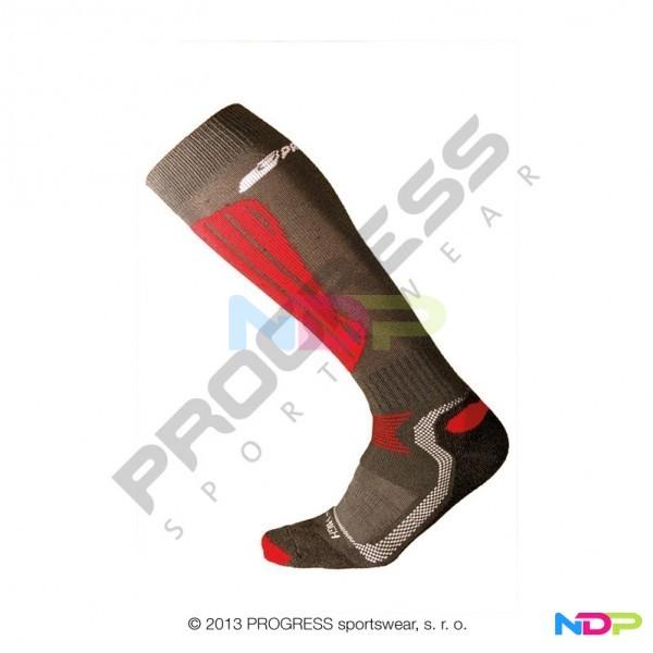 f3011224f47 podkolenky Progress X-HIGH černo červené